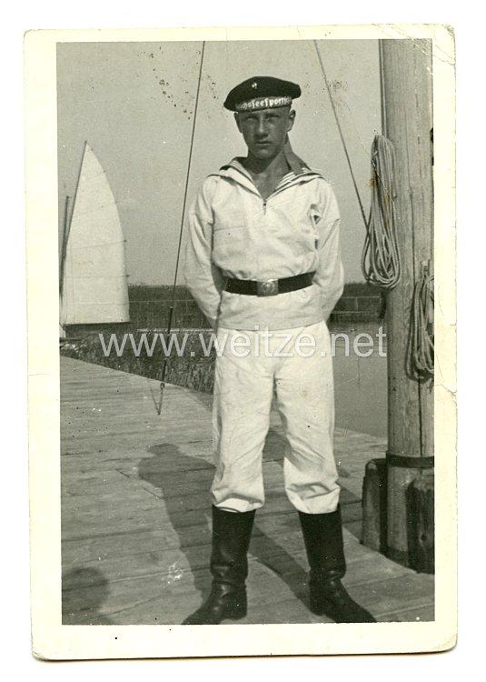 HJ Portraitfoto eines Marine-HJ Jungen
