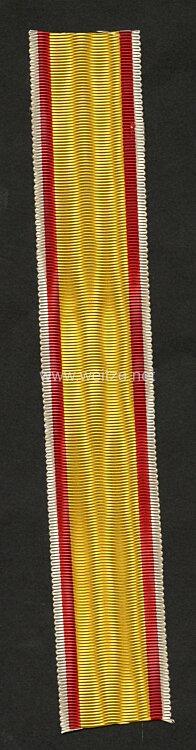 Originales Band Lippe Detmold Kriegsverdienstkreuz 1914