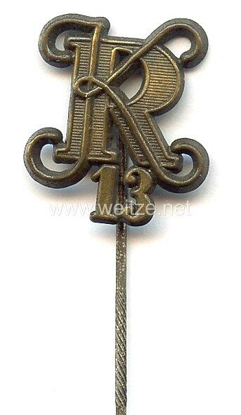 Heer - Zivilnadel für Angehörige des Kavallerie-Regiments Nr. 13