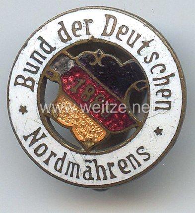 Böhmen und Mähren - Bund der Deutschen Nordmährens
