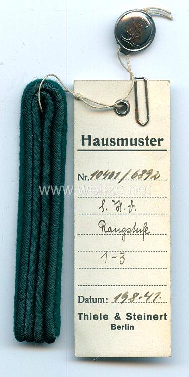 Luftwaffe Einzel Schulterstück, Angehöriger des Reichsluftfahrtministerium der Luftwaffen-Inspektion Rangstufe 1 - 3