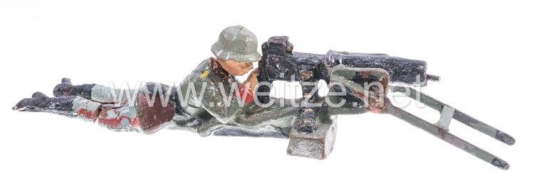 Elastolin - Heer MG Schütze liegend am SMG