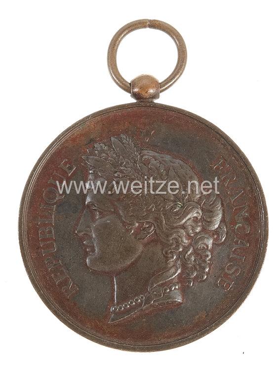"""Frankreich Medaille """"Championnat de 1887"""""""