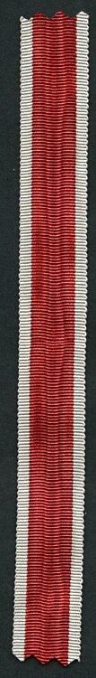 Originales Miniaturband Deutsche Volkspflege-Medaille sowie Volkspflege-Ehrenzeichen 3. Klasse.
