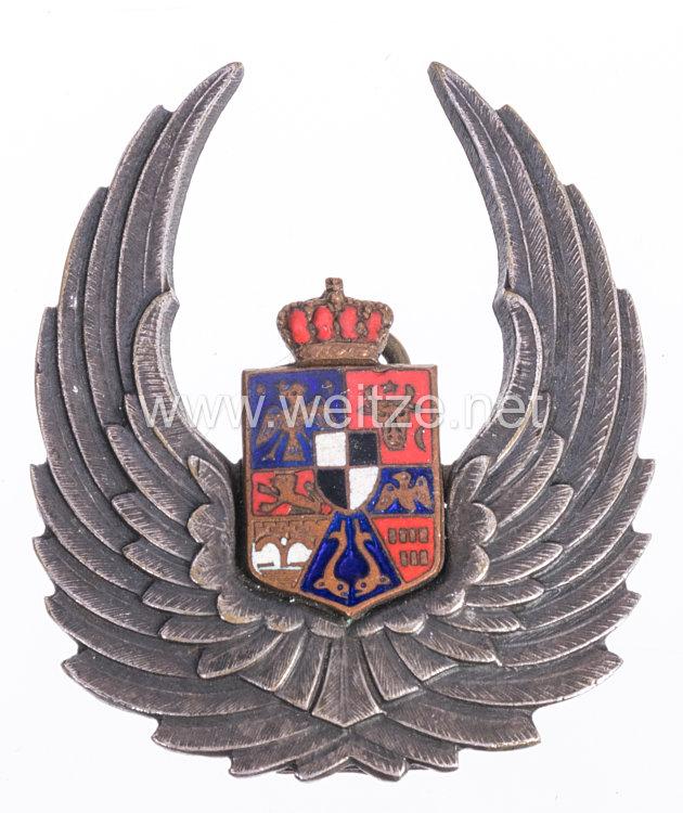 Königreich Rumänien 2. Weltkrieg Flugzeugbeobachterabzeichen