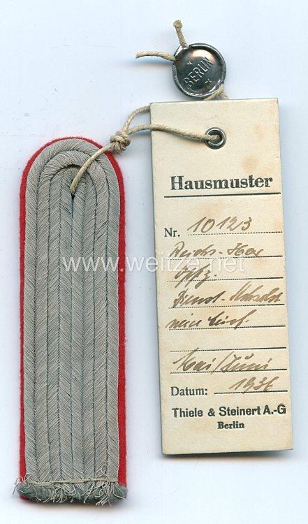 Wehrmacht Heer Einzel Schulterstück, Leutnant der Artillerie