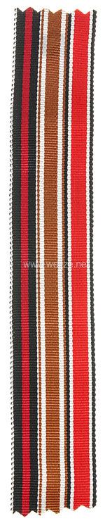 Originales Band zur Medaille zur Erinnerung an den 1. Oktober 1938, Eisernes Kreuz 2. Klasse 1939 und Schutzwall-Ehrenzeichen