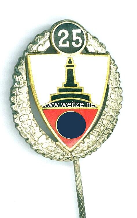 Deutscher Reichskriegerbund Kyffhäuser ( DRKB ) - Silberne Ehrennadel für 25 jährige Mitgliedschaft
