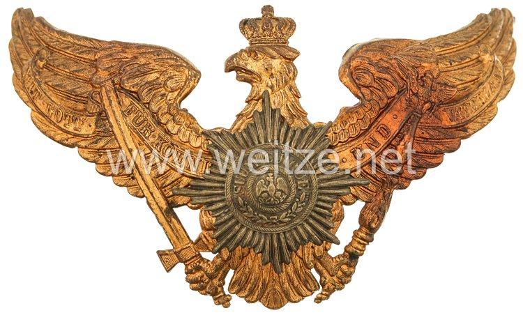 Preußen Helmadler für Mannschaften Garde-Infanterie Regimenter
