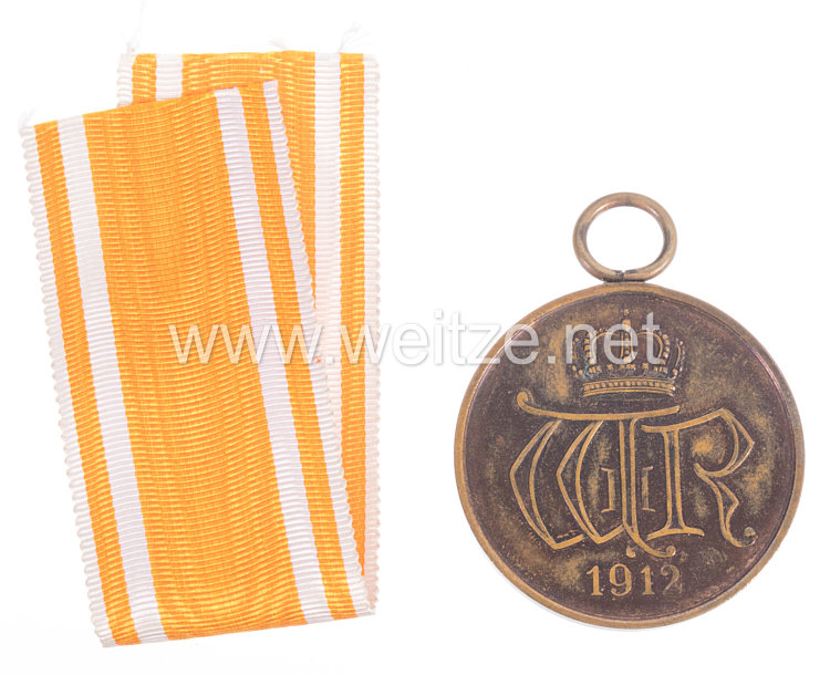 Preußen Allgemeines Ehrenzeichen in Bronze, 1912-1918