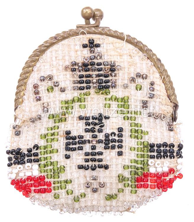 Preussen Eisernes Kreuz 1914 - 1. Weltkrieg kleine patriotische Geldbörse