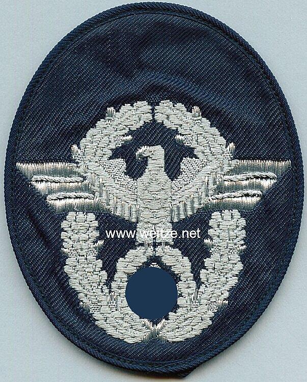 Feuerwehr III. Reich Ärmeladler für Offiziere