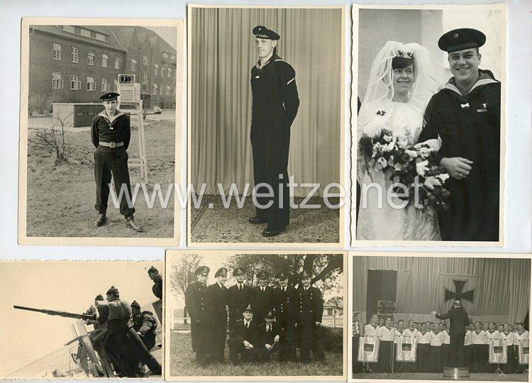 Bundesrepublik Deutschland ( BRD )  Fotokonvolut vonAngehörigen der Bundesmarine