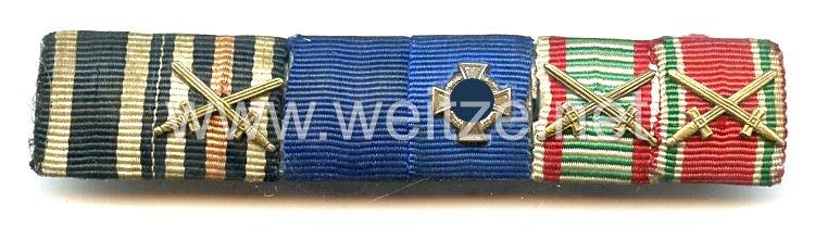Bandspange für einen österreichischen Veteranen des 1. Weltkriegs and späteren Beamten