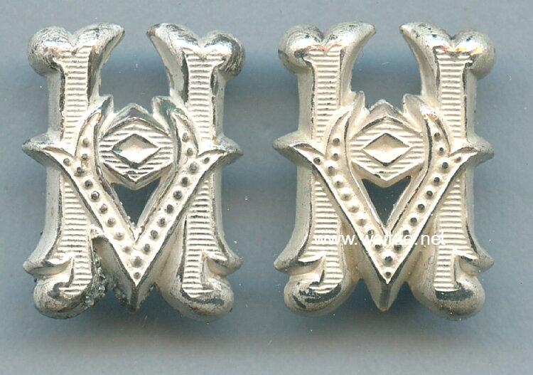 Wehrmacht Heer Paar Schulterstückauflagen für Unteroffiziere der Heeresverwaltung