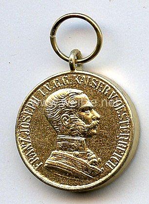 Österreich Große Goldene Tapferkeitsmedaille Kaiser Franz Joseph I. 1866-1914