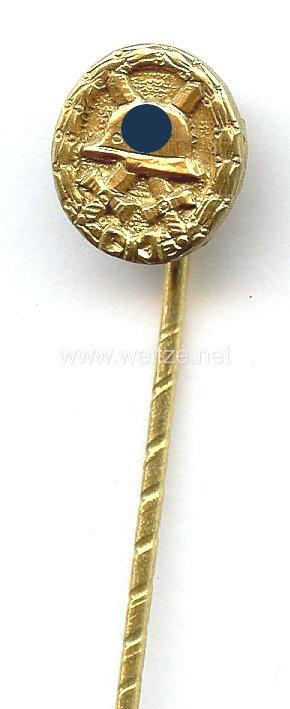 Verwundetenabzeichen in Gold 1939 - Miniatur