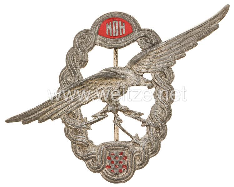 Kroatien 2. Weltkrieg Luftwaffe Abzeichen für Fliegerschützen