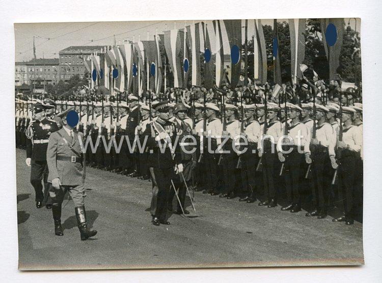 III. Reich Pressefoto. Der Empfang der Königlichen Gäste aus Jugoslawien in Berlin. 1.6.1939.