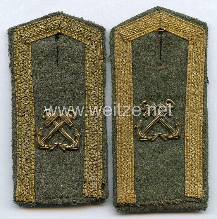 Kriegsmarine Paar Schulterstücke für Maaten der Marine-Unteroffizier Lehrabteilung