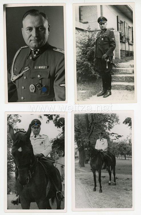 Waffen-SS Fotos, SS-Obersturmführer mit Feldspange