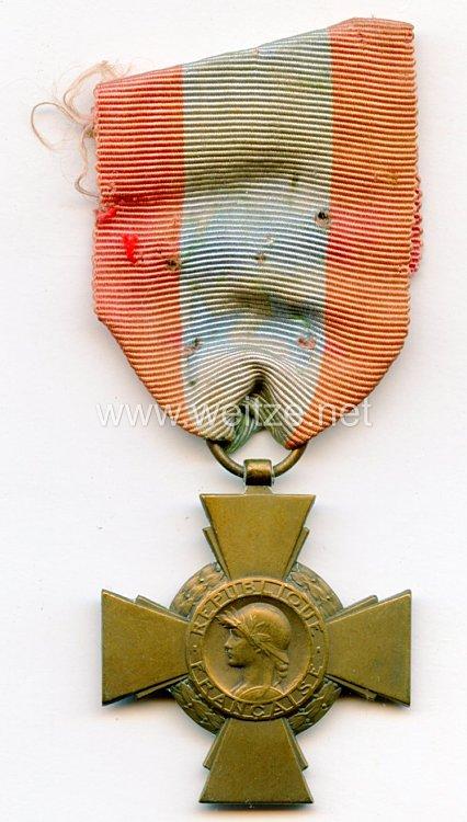 """Frankreich """"Croix du Combattant"""""""