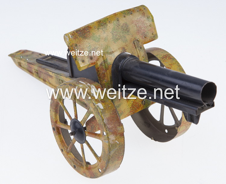 Blechspielzeug - Artillerie - Geschütz