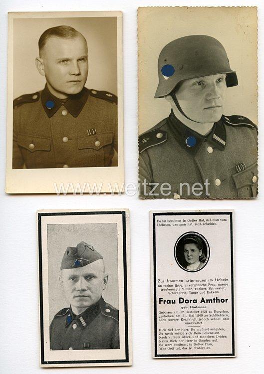 Waffen-SS Portraitfotos, SS-Rottenführer im SS-Totenkopf-Regiment 4