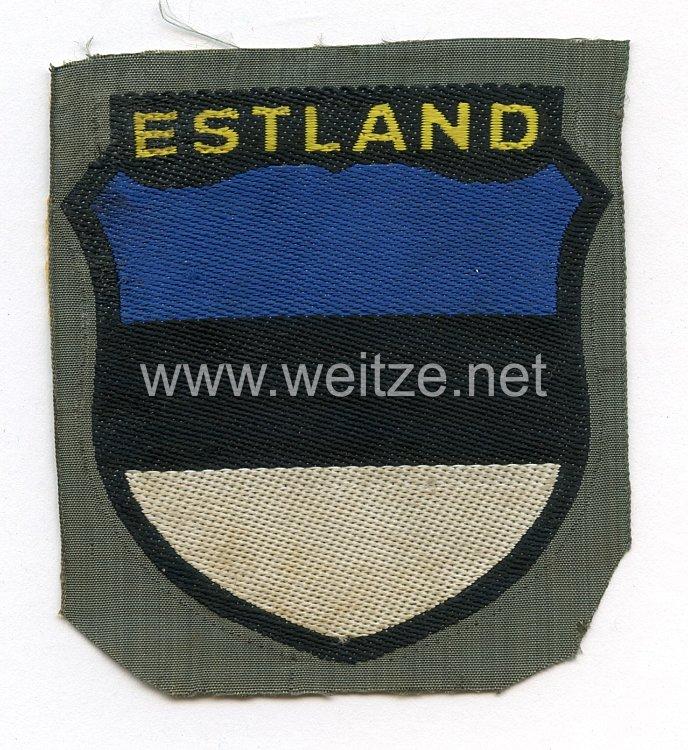 Wehrmacht Heer Ärmelschild der estnischen Freiwilligen
