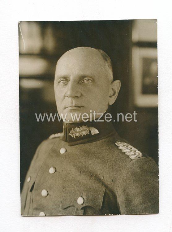 Weimarer Republik Pressefoto: Generalmajor Schreiber der Stadtkommandant von Berlin