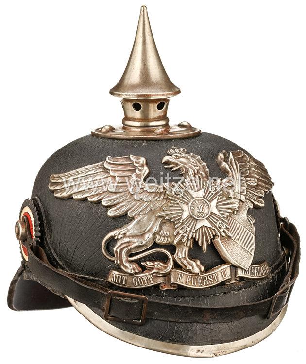 Baden Pickelhaube für Mannschaften im 1. Badischen Leib-Grenadier-Regiment Nr. 109