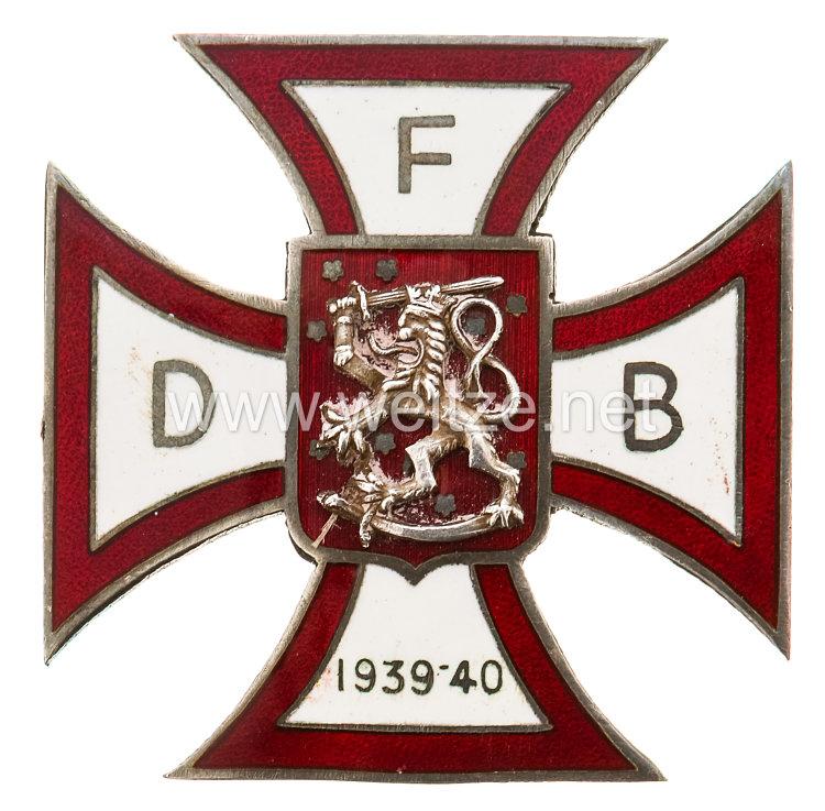 Dänemark Erinnerungskreuz für die dänischen Freiwilligen im finnischen Winterkrieg 1939-40