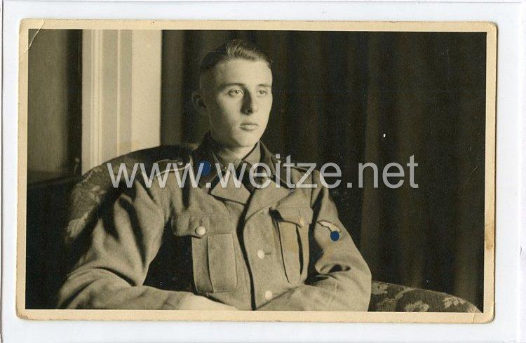 Waffen-SS Foto, Angehöriger der SS-Totenkopfdivision