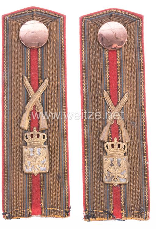 Preußen Paar Schulterstücke für einen Zeughaus-Büchsenmacher