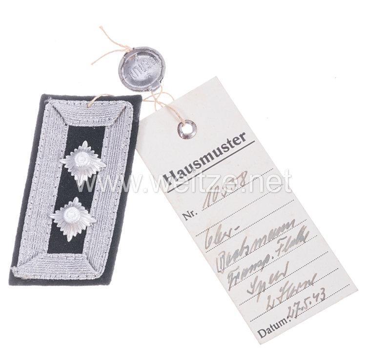III. Reich Transportflotte Speer Einzel-Kragenabzeichen für einen Ober-Bootsmann