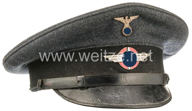 Deutscher Luftsport Verband DLV Schirmmütze für Mannschaften, um 1933/34