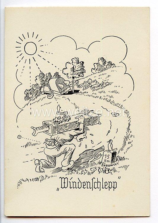 """Deutscher Luftsport-Verband ( DLV ) - Propaganda-Postkarte - """" Windenschlepp """""""