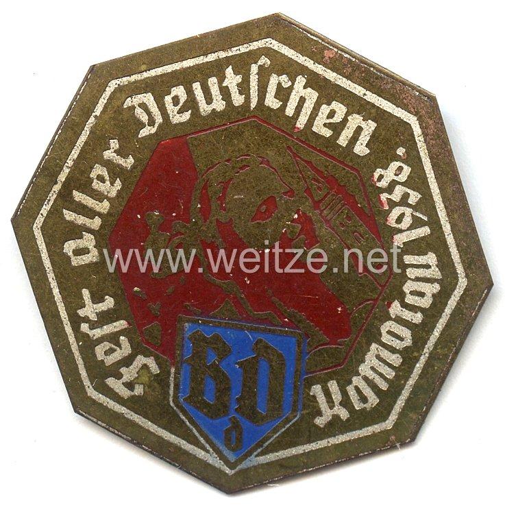 Sudetenland - Bund der Deutschen ( BdD ) - Fest aller Deutschen 1938 Komotau