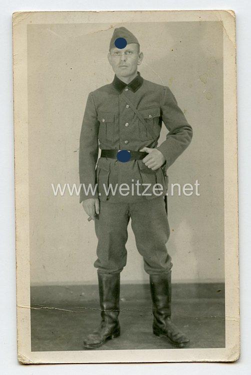 Reichsarbeitsdienst ( RAD ) Foto, RAD-Mann mit Schiffchen