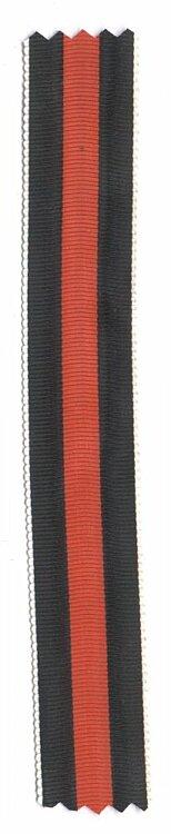 Originales Band zur Medaille zur Erinnerung an den 1.Oktober 1938