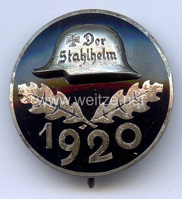 Stahlhelmbund - Diensteintrittsabzeichen 1920, große Ausführung 35 mm