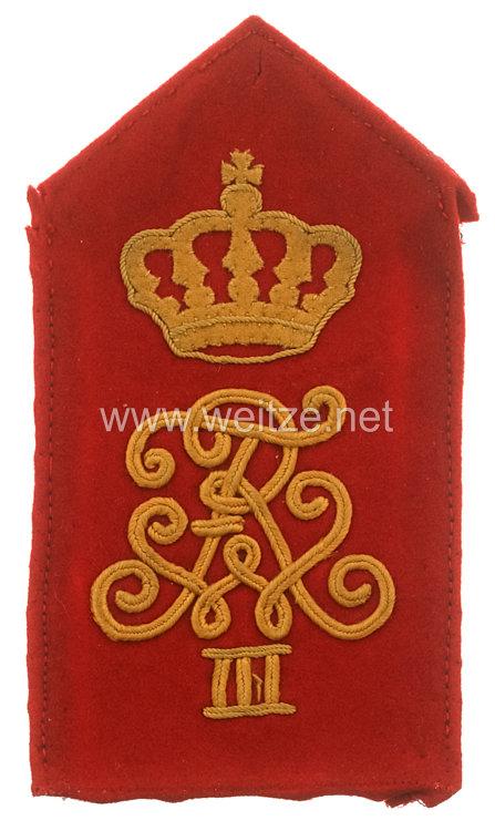 Preußen Einzel Schulterklappe für Mannschaften im Leib-Grenadier-Regiment König Friedrich Wilhelm III. (1. Brandenburgisches) Nr. 8