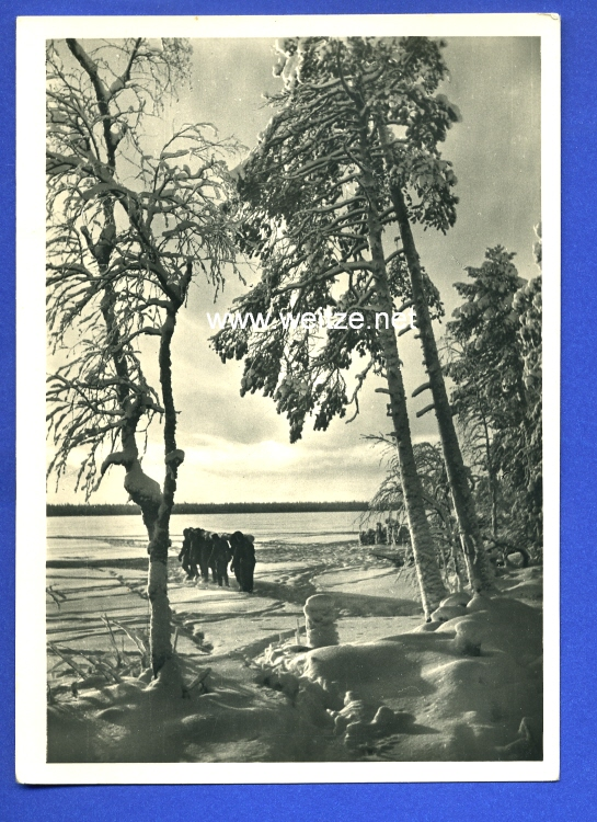 Waffen-SS - Propaganda-Postkarte -