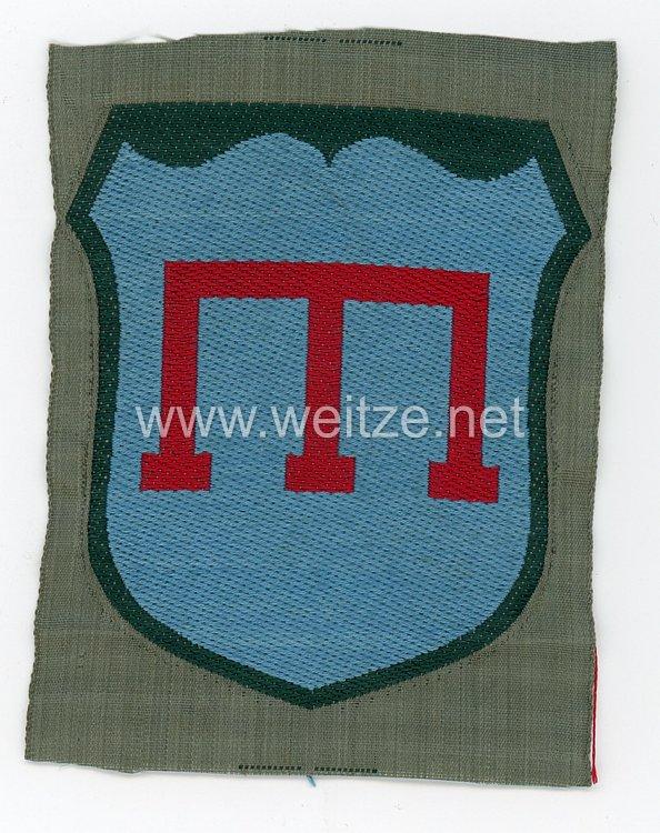 Wehrmacht Ärmelschild der Freiwilligen Krim-Tataren