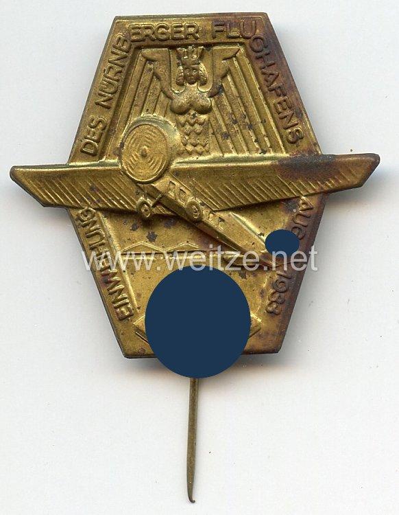 III. Reich - Einweihung des Nürnberger Flughafens August 1933