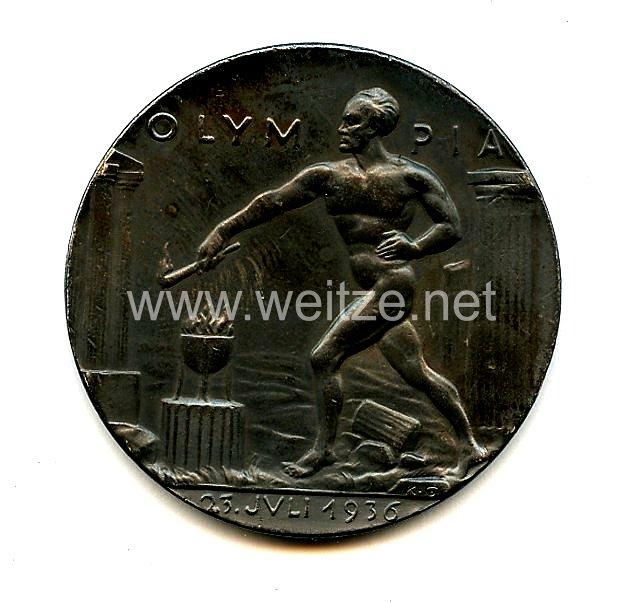XI. Olympischen Spiele 1936 Berlin - Erinnerungsmedaille