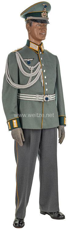 Wehrmacht komplette Parade-Uniform aus dem Besitz von Rittmeister F. Filser, Chef der 5. M.G. Schwadron im Kavallerie-Regiment Nr. 17
