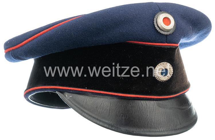 Königreich BayernSchirmmütze für Offiziere Artillerie, Pioniere und Verkehrstruppen
