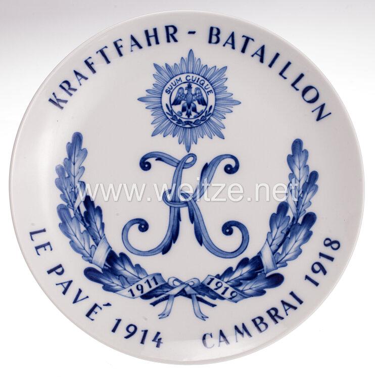 meissen regimentsteller kraftfahr bataillon 1911 1919 256224 plaketten nichttragbare. Black Bedroom Furniture Sets. Home Design Ideas