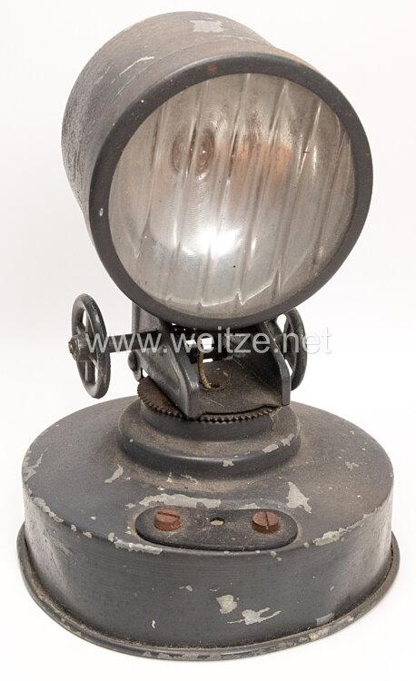 Blechspielzeug - Lineol elektrischer Flakscheinwerfer 840